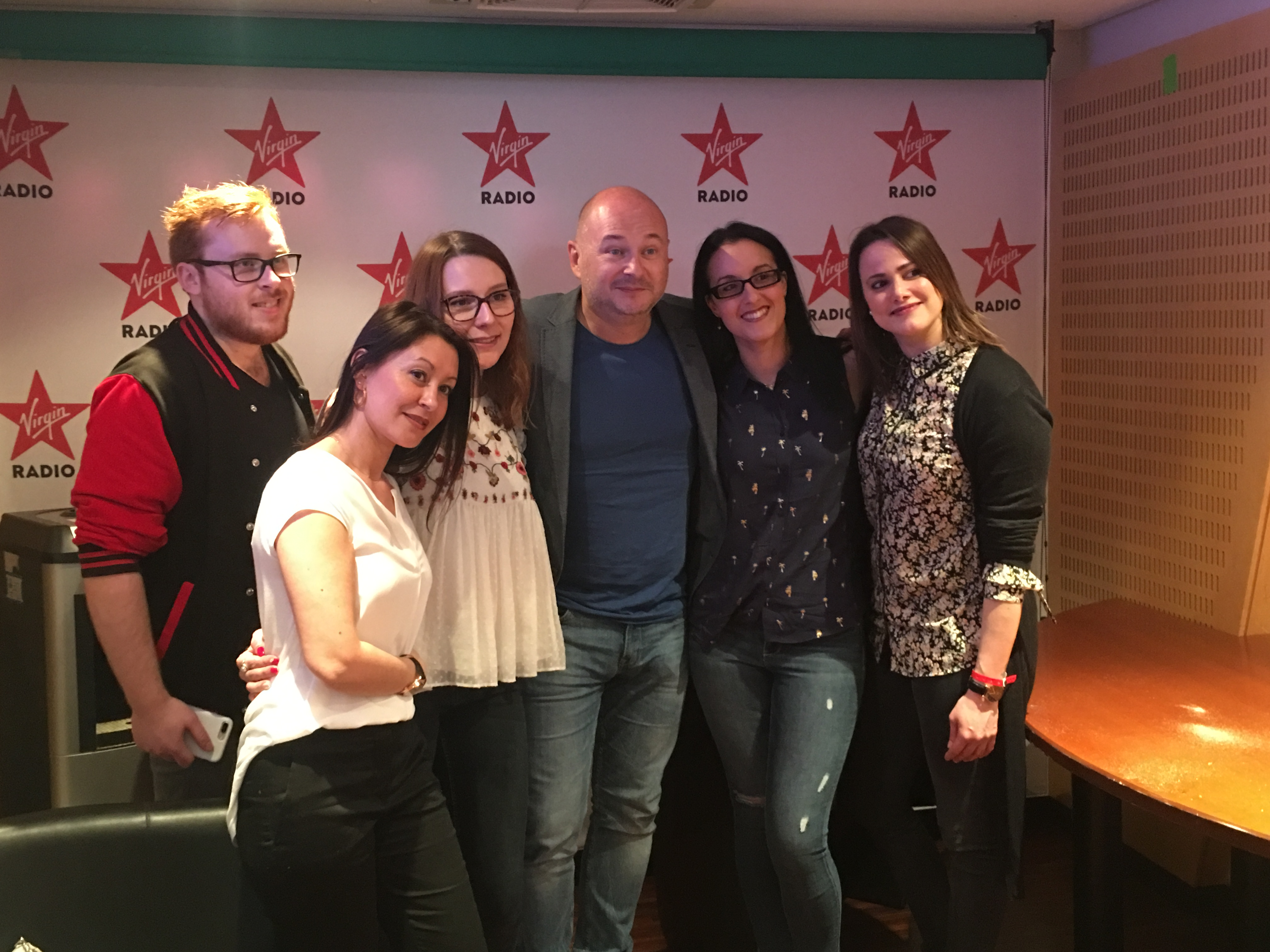 Emission CAUET S'LACHE sur Virgin Radio