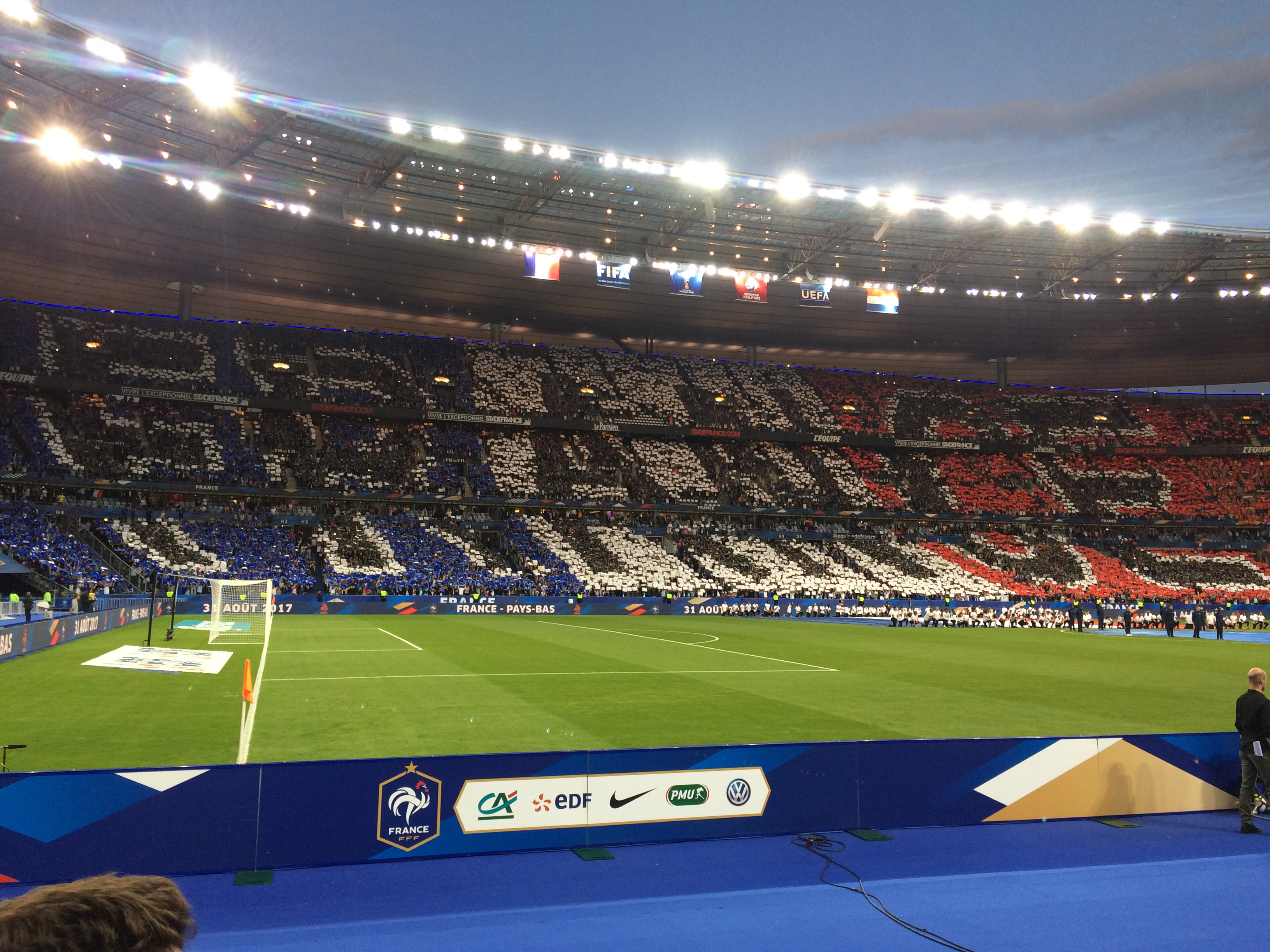 Stade de France  :  France / Pays-Bas