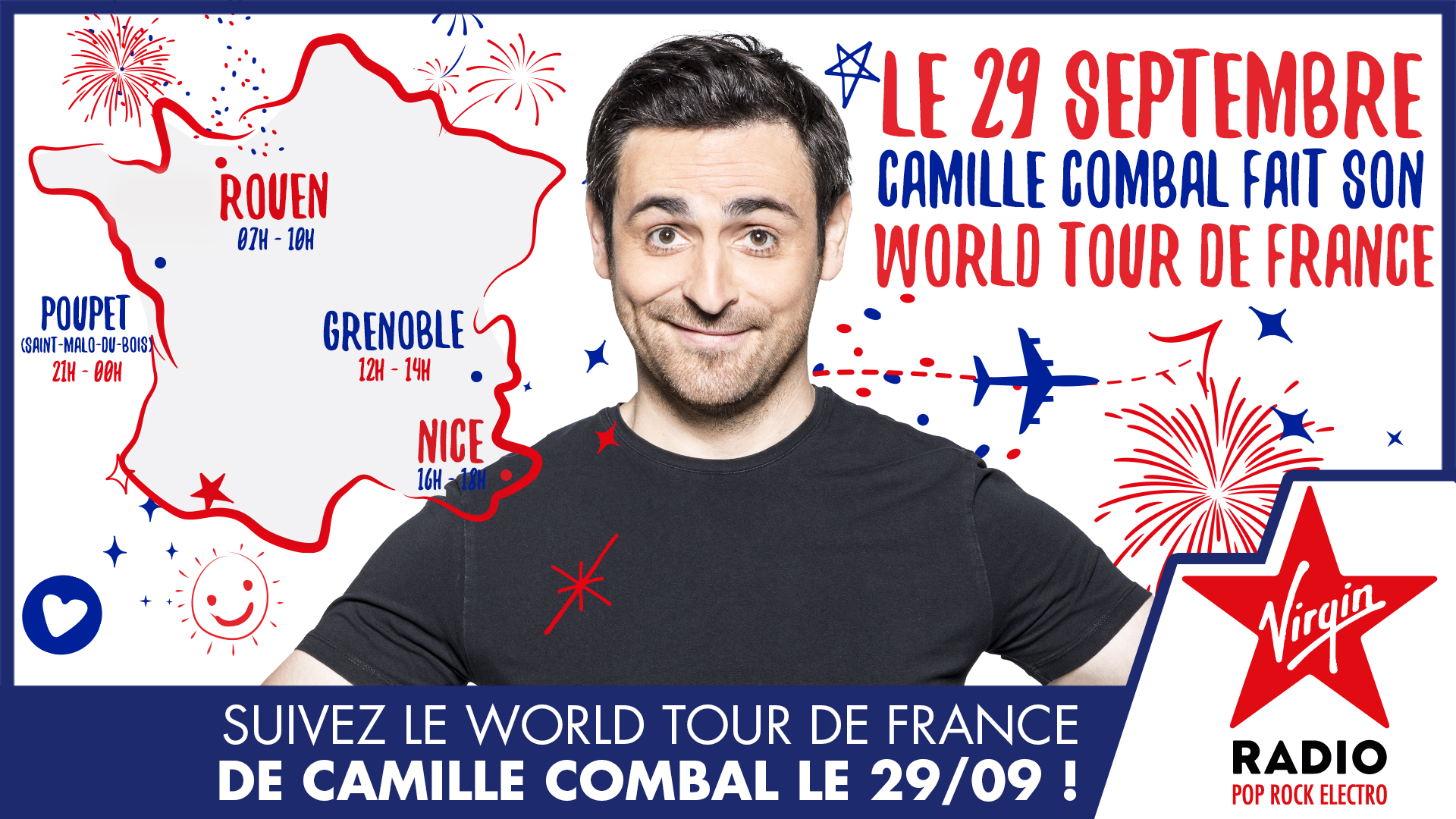 World Tour de France de Camille Combal